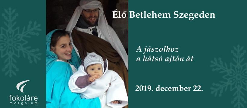 Élő Betlehem 2019 Facebook header